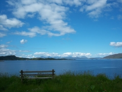 Isle of Skye from Lochcarron